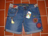 DESIGUAL Jeans Shorts DENIM AFRICA BERMUDA Bermudas blue denim blau W31 NEU