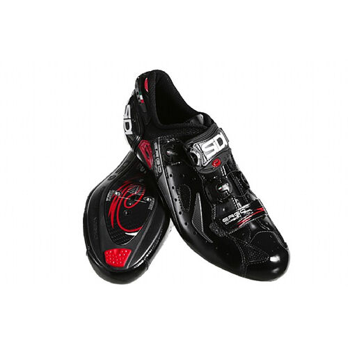 New SIDI Ergo 4 Mega Carbon Composite Road Bike Cycling Shoes Black US Warehouse