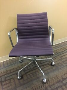 Image Is Loading Herman Miller Eames Aluminum Group Management Chair EA335