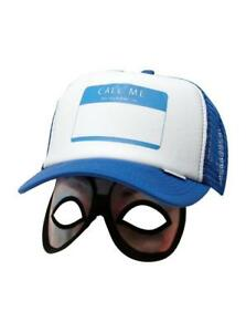 Quiksilver-Diggler-Camionneur-Reglable-Deguisement-Call-Me-Chapeau-Masque-Yeux