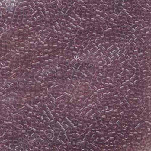 Miyuki Delica 11//0 7 G 1200 Verre Perles de rocaille transparent de 78 Couleurs U-Pick