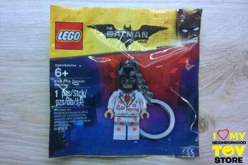 RETIRED 2017 - NEW LEGO 5004928 POLYBAG KISS KISS TUXEDO BATMAN™ KEYRING