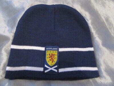 2019 Moda Bambini/giovani Scozia Calcio/rugby Cappello Beanie-h Scotland Football/rugby Beanie Hat It-it Mostra Il Titolo Originale
