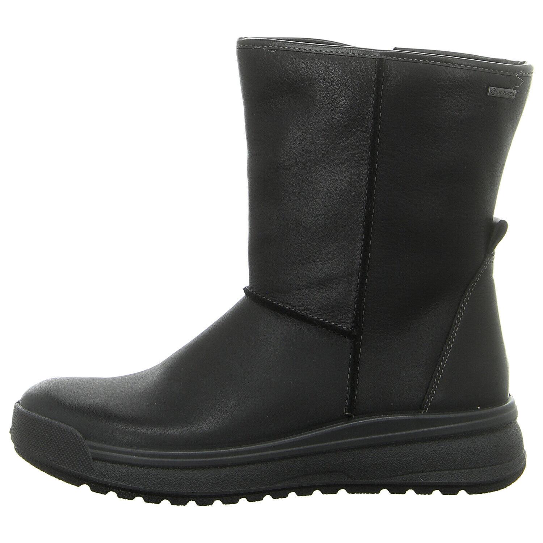 ARA Schuhe gefütterte Stiefelette ASPEN-ST-GT 12-19757-61 schwarz NEU