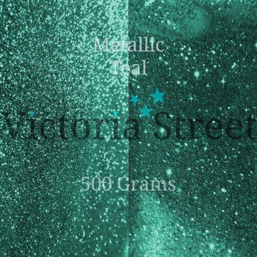 "Green Emerald Victoria Street Glitter Metallic Teal Fine 0.008/"" // 0.2mm"
