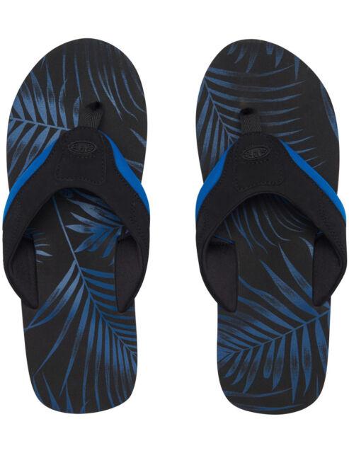 c3b634b45 Animal Snorkel Blue Jekyl AOP Flip Flop UK 8