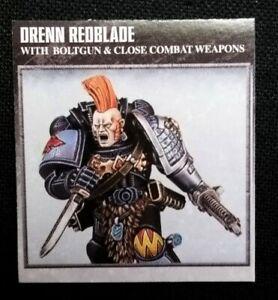Space Wolves Blood Claw Warhammer 40K Space Marines Drenn Redblade