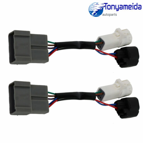 L//R Pair Set Mirrors Power Heated Upgrade Harness Adapter For Excursion 2000-01