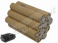 Batteria per trapano Hilti BP6 36V Ni-Cd 2400 mAh. kit AUTO INSTALLAZIONE