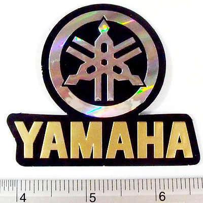 "Yamaha Motor Cycles Bike Sticker Reflect Light Decal BKRE 2.25x2.5/"""