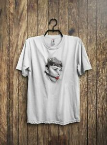 81d2b28e50 Image is loading AUDREY-INSPIRED-BALL-GAG-T-SHIRT-ADULT-WEAR