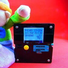 Digital Combo Component Tester Transistor Inductor Capacitor LCR ESR Meter +CASE