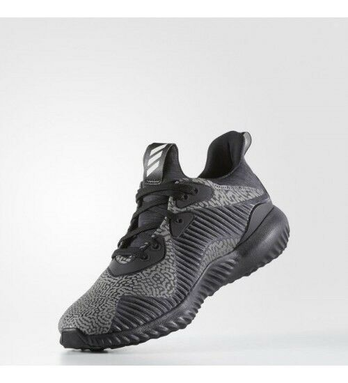 Adidas Womens Alphabounce HPC Black Size 9 Running Shoes