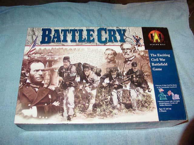 Hasbro 1999 - BATTLE CRY -  The Exciting Civil War Battlefield gioco (UNPUNCHED)  ti renderà soddisfatto