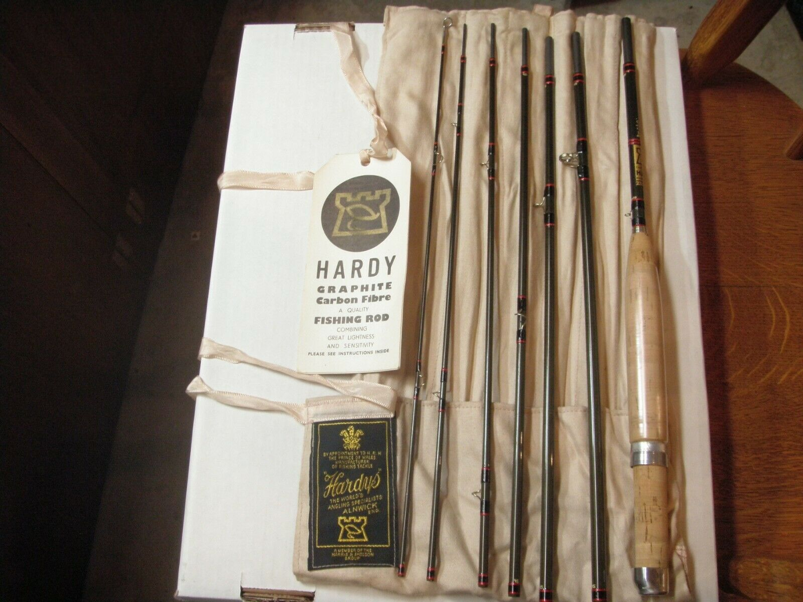 Hardys Vintage DeLux Smokkel 7 Pcs Fly Rod