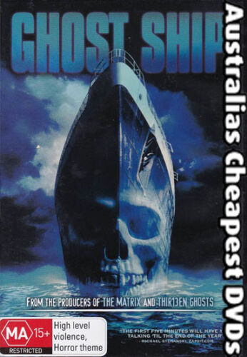 1 of 1 - Ghost Ship DVD NEW, FREE POSTAGE WITHIN AUSTRALIA REGION 4