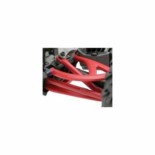 NEW RPM Traxxas 1//16 E-Revo Rear Upper /& Lower A-Arm Set Red 80609