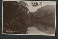 MILLERS DALE, High Tor,Peak District, R. Sneath, RP photograph postcard  zc.364