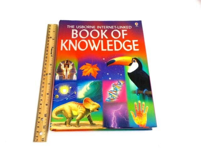 The Usborne Internet-Linked Book of Knowledge by Emma Helbrough Hardcover