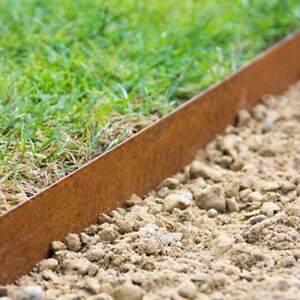 Image Is Loading Garden Lawn Edging Metal Border Multi Edge