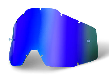 GOGGLE-SHOP MIRROR LENS to fit 100/% RACECRAFT ACCURI STRATA MX MOTOCROSS GOGGLES