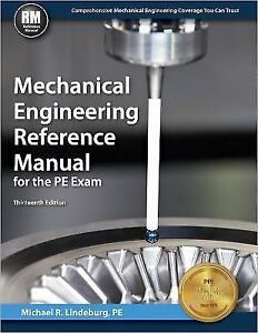 Mechanical engineering reference manual for the pe exam by pe mechanical engineering reference manual for the pe exam by pe michael r lindeburg 2013 hardcover new edition fandeluxe Gallery