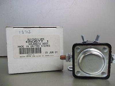 Mercury Quicksilver Solenoid 65057T1. Part 65057T 1