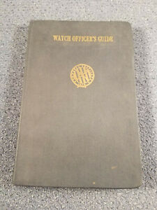 039-Watch-Officer-039-s-Guide-039-by-US-Navy-1945-HC-WWII-Naval-Academy-CA