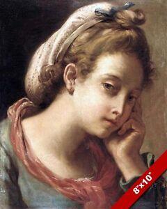 THE PEEP SHOW BY PIETRO NOVELLI ITALIAN PAINTING ART REAL CANVAS GICLEEPRINT