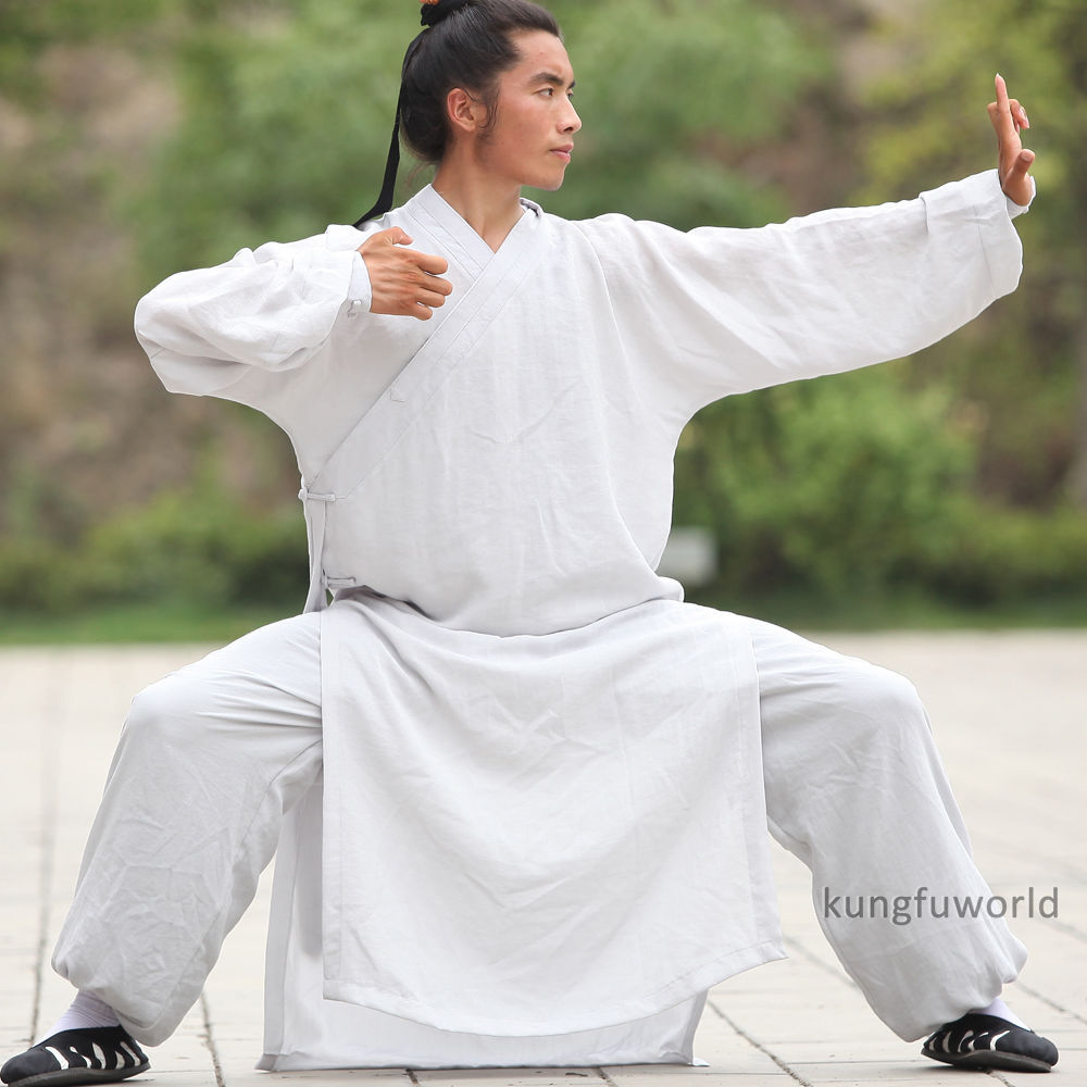 Wudang Taoist Robe Tai   Uniform  Martial arts Kung fu Suit Wing Chun Clothes  new branded