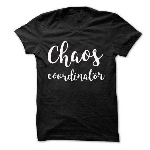 Chaos coordonnateur T-Shirt Femme Unisexe ras du cou shirt Chaos coordonnateur Shirt