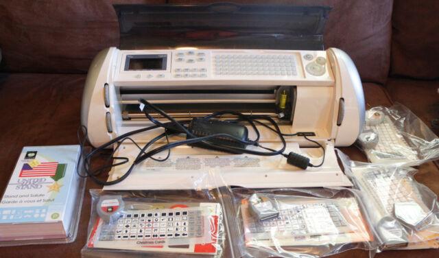 Cricut Expression CREX001 Cutting Machine Provo Craft Scrapbooking 7 Cartridges