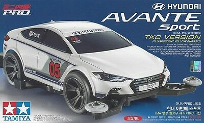 Tamiya 92382 1/32 Mini 4WD Pro Car Kit MA Chassis Hyundai Avante Sport  Elantra