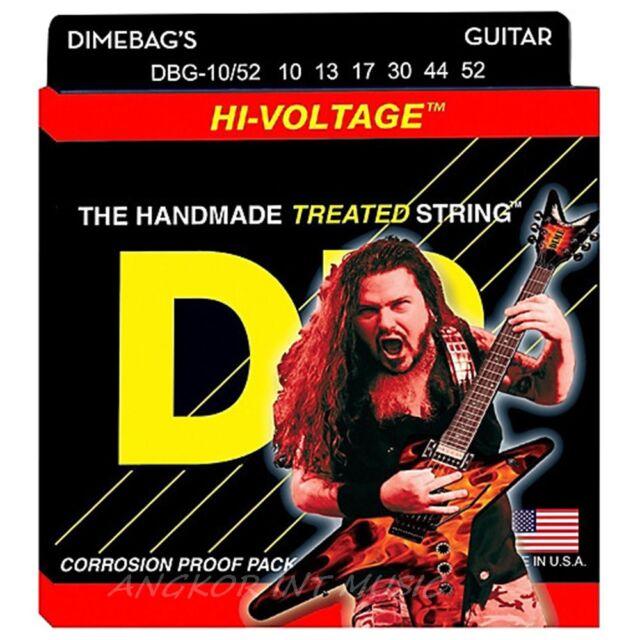 DR Strings Dimebag Darrell DBG-10/52 Medium-Heavy Hi-Voltage Electric Guitar