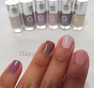 Image Is Loading Natural Nail Polish 6 Color GEL EFFECT Nude
