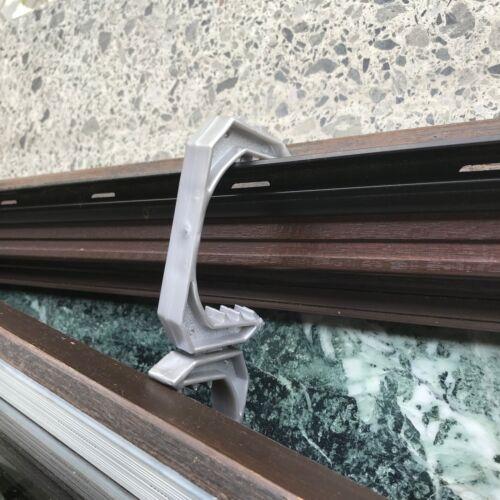 1-100 Argent Retro fenêtre parenthèse boudins de porte enfants Pince Protection Large RDA