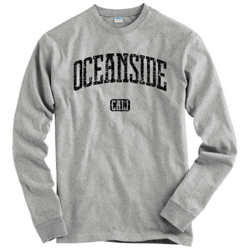 Gift Surfing San Diego LS Men S-4X Oceanside California Long Sleeve T-shirt