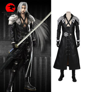 Details About Final Fantasy Vii Ff7 Sephiroth Cosplay Costume Full Suit Halloween Customized
