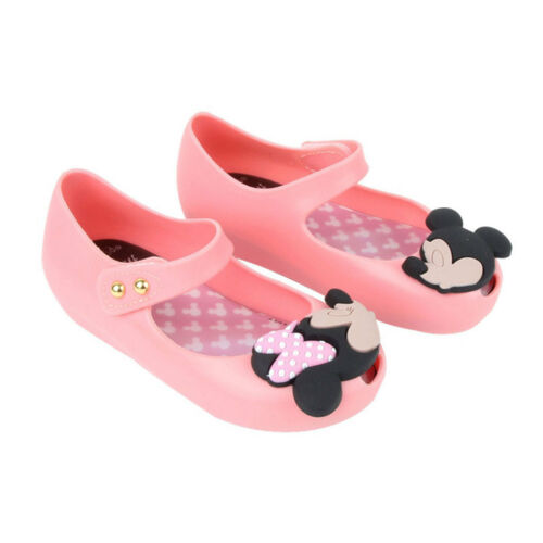 mini melissa remake Jelly Shoes Cartoon Mickey Minnie mouse Sandals Kids Toddler