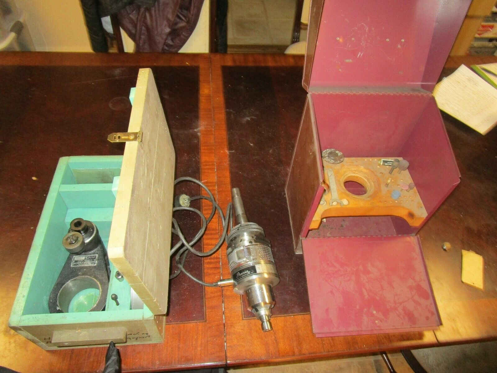 Percise electric jig grinder modle J1L with attachmet diamond die and mold