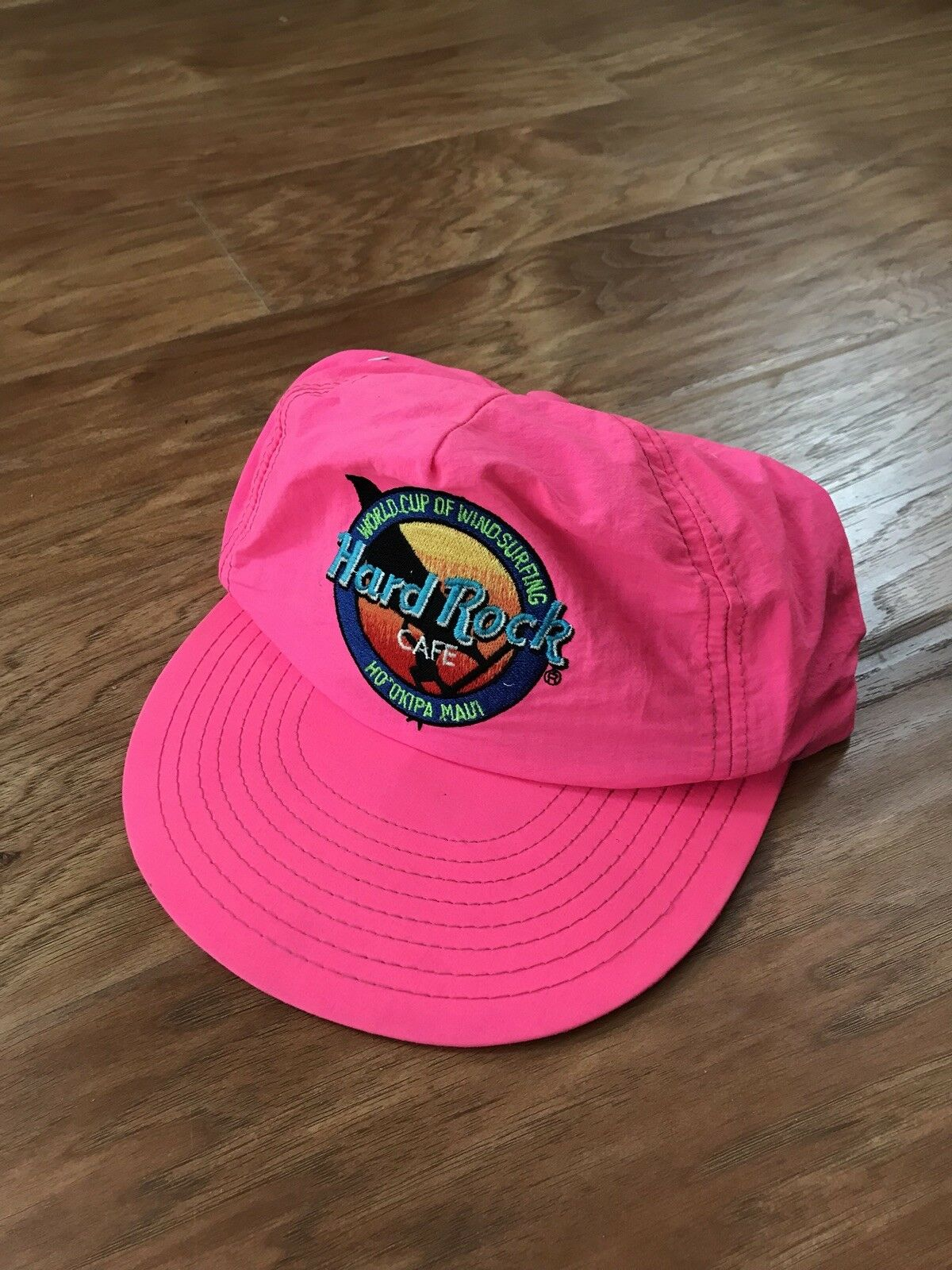 Vintage 90 s Hard Rock Cafe Maui Hat In Cap Trucker Made In Hat USA  Adjustable 5a34f0 7f739c8e3978