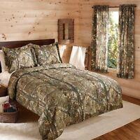 Camouflage Realtree Bedding Comforter Set W Shams Camo