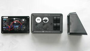 12v Surface Mount Dc Power Switch Panel 4x4 Caravan Camper