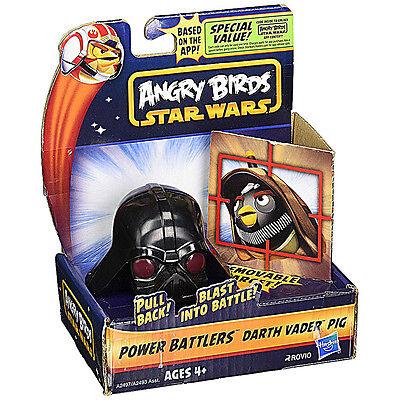 Star Wars & Angry Birds Power Battlers Darth Vader Pig NEW 100% Hasbro