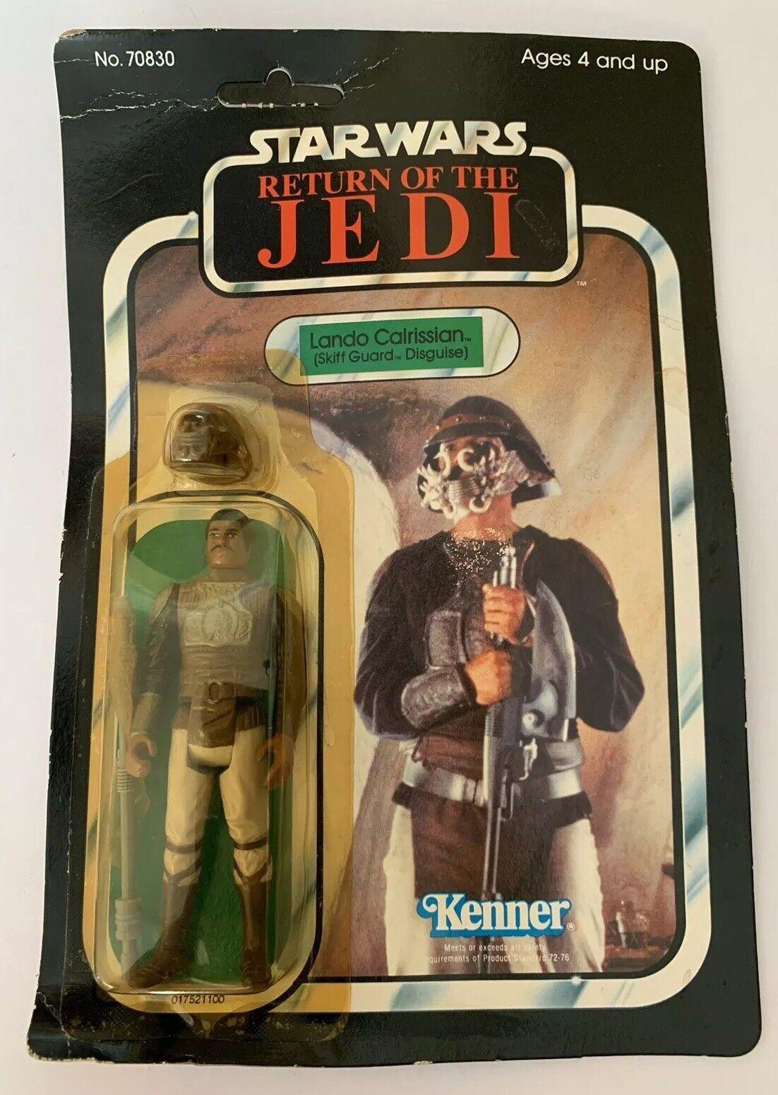 Vintage 1983 Kenner Regreso Del Jedi De Estrella Wars Lando Calrissian 65 Moc