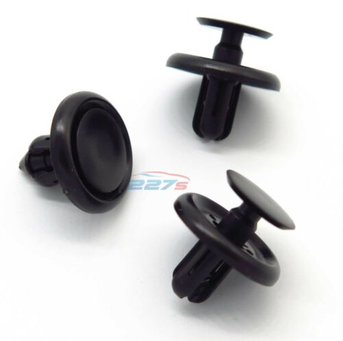 7mm Hole 50x Lexus /& Toyota Plastic Clips for Engine Bay Covers /& Shields