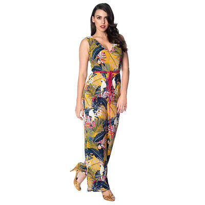 # Dancing Days by Banned Jumpsuit Playful Playsuit 8049 BLACK
