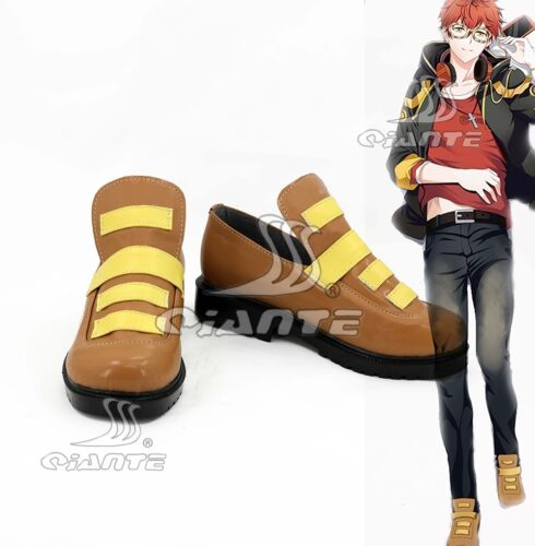 Hot Game Mystic Messenger 707 Top Cosplay Boots Halloween Shoes Cosmic Con
