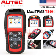 Autel MaxiTPMS TS501 TPMS Sensor Activation Tool Code Reader Program ECU Key FOB