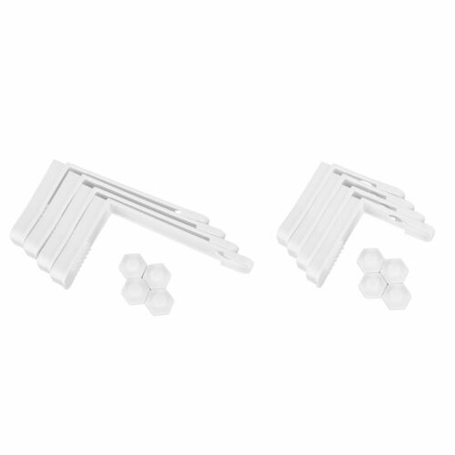 US 4Pcs Easy Install Bed Sheet Clips Holders Grippers Approach Keep Sheets HQ